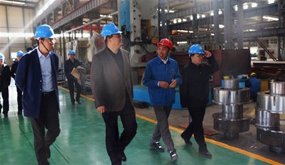 Secretary of the Rongcheng Party Secretary Jiang Shan visited our company